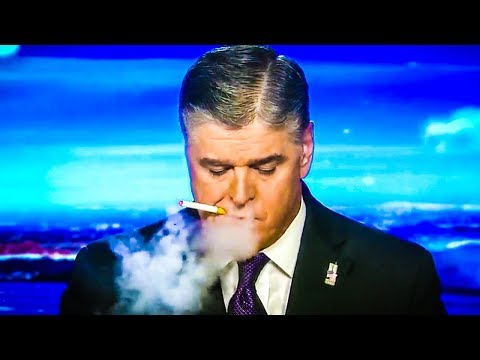 LEAKED Tape Shows Disheveled Hannity Vaping During Broadcast