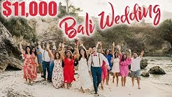 $11000 DESTINATION WEDDING IN BALI - Cost Breakdown