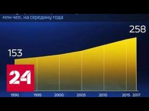 Мир в цифрах. Где больше всего иммигрантов - Россия 24