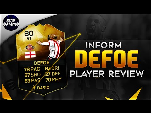 Inform Jermaine Defoe (80) Player Review - W/ In Game Stats and Gameplay - FIFA16 Ultimate Team