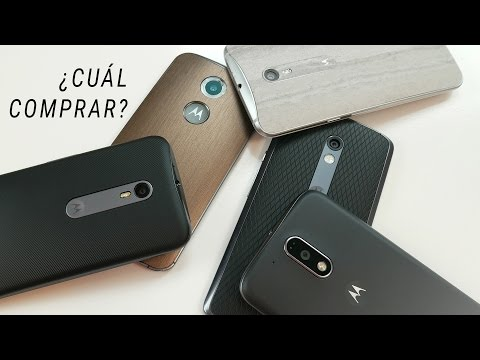 ¿Cuál comprar? | Moto G3, X 2014, X Play, X Style o G4 Plus