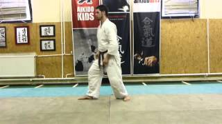 funakogi undo- Boat-rowing exercise / evezö gyakorlat [TUTORIAL] Aikido empty hand basic technique