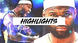 Best DeMarcus Cousins Highlights WELCOME TO GOLDEN STATE | 17-18 Season Plays