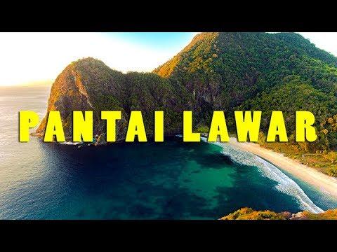 Pantai Lawar, Sekongkang, Sumbawa Barat - Drone Video