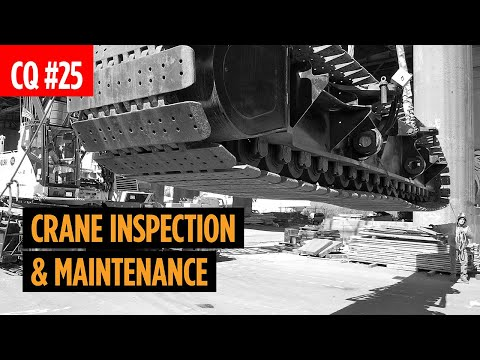 Crane Inspection & Maintenance | Pre-Check, Records, Requirements, Operator Qualifications, and More