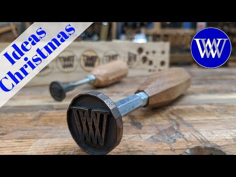 How to Make a Branding Iron For Woodworking