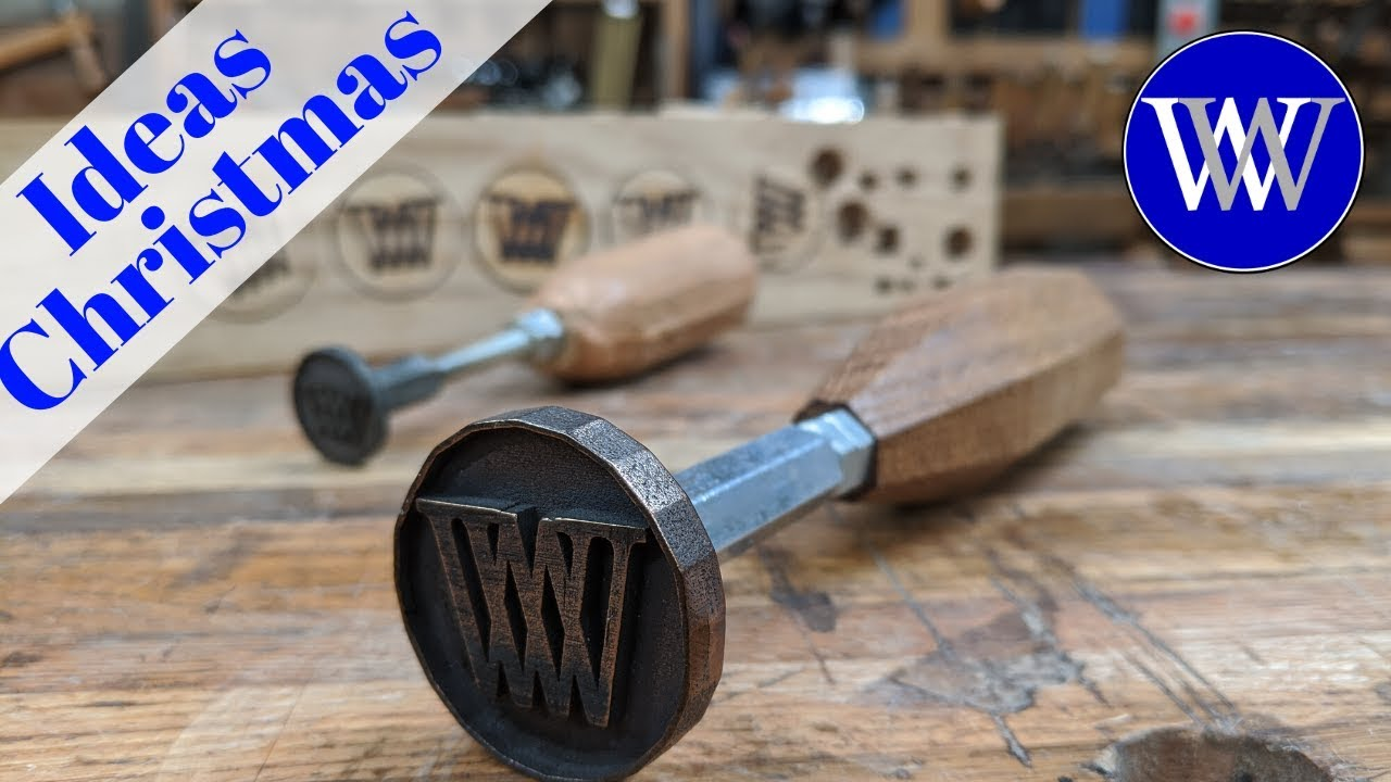 How To Make A Branding Iron For Woodworking Youtube
