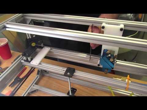 2.x Co2 80 watt CNC laser cutter build