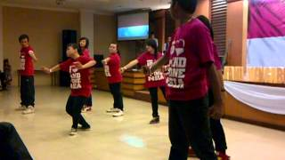 Indonesia Pusaka by  ZMS Dance squad live performance at GKPB MDC Samarinda