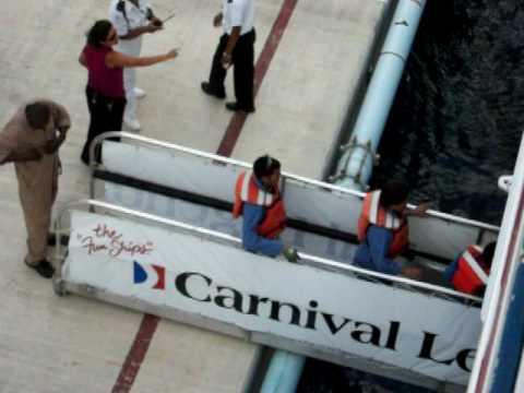 carnival legend passenger jumps ship 4/21/10 100_1079.MOV