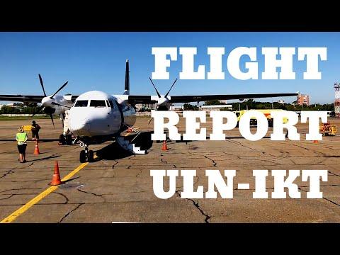 Mini Flight Report | Aero Mongolia | Fokker 50 | Ulaanbaatar to Irkutsk | vlog03