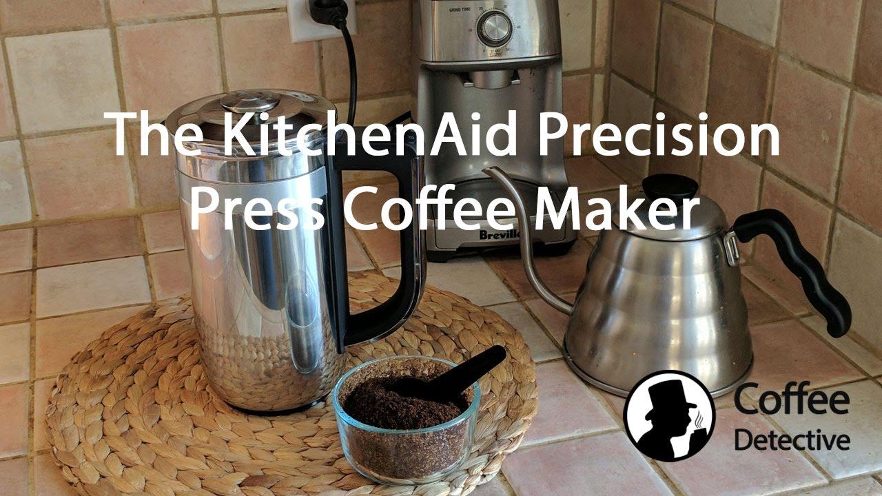 Review Of The Kitchenaid Precision Press Coffee Maker