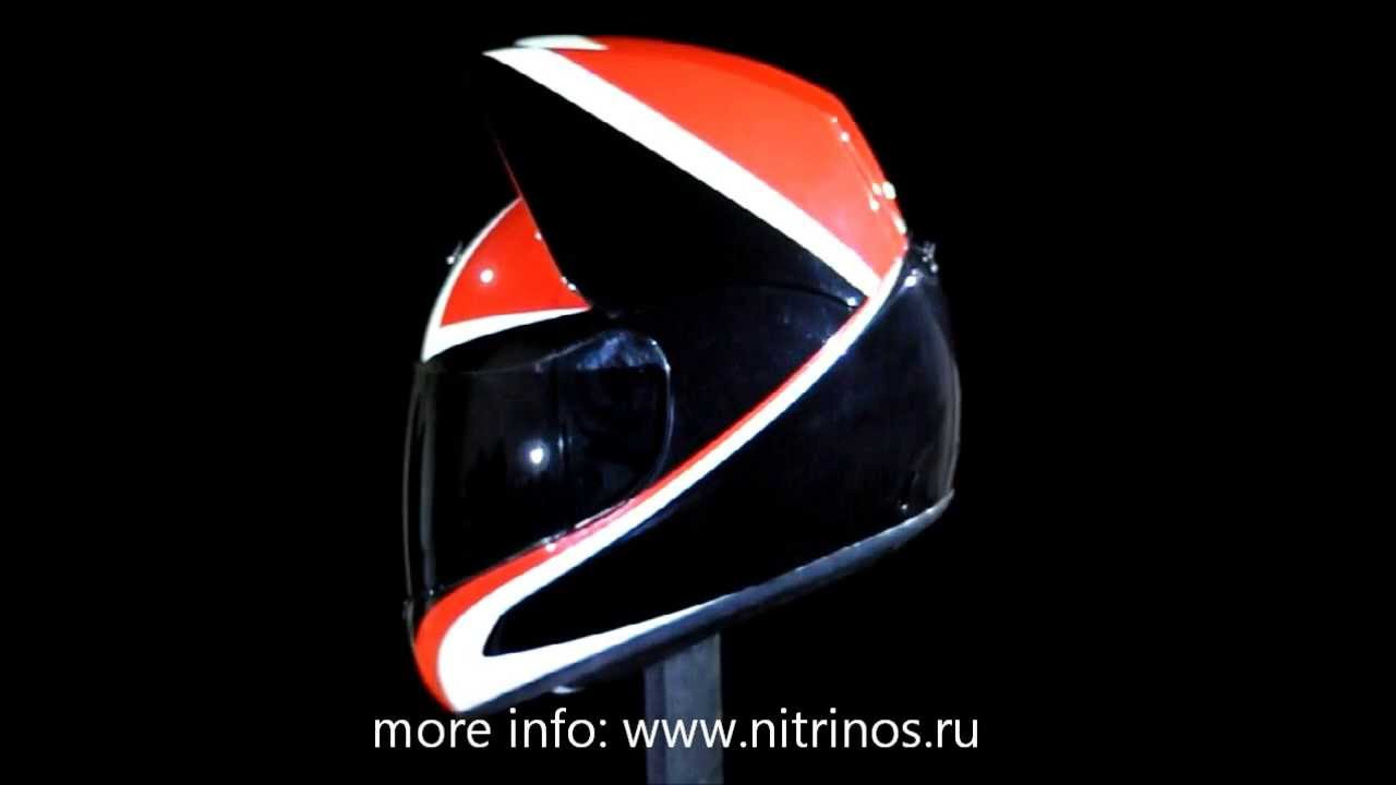 Как снять визор с шлема HJC CS-14 - YouTube