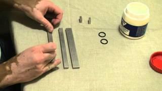 Mould Preparation for Bending Beam Rheometer (BBR) test