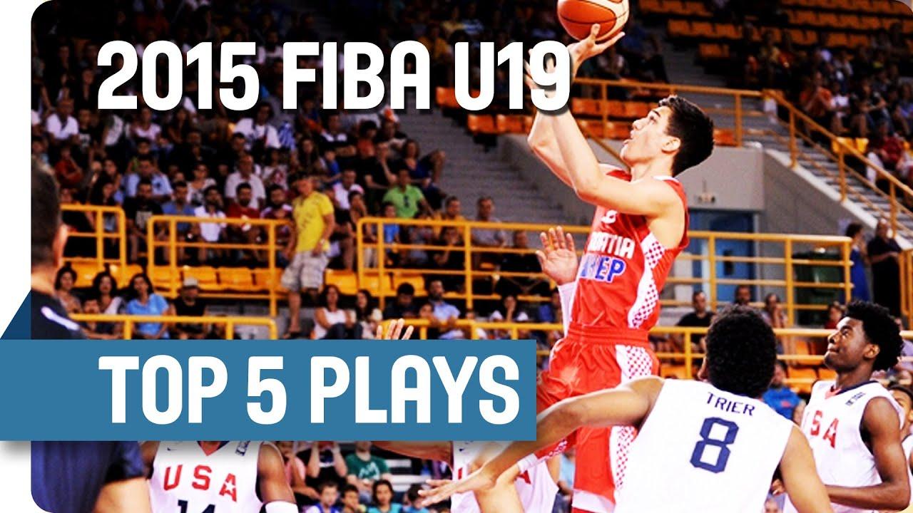 Top 5 Plays (Final Day) - 2015 FIBA U19 World Championship