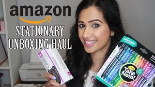 Amazon Stationary Unboxing Haul