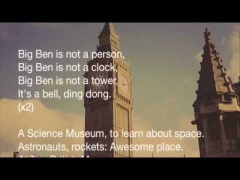 London song Big Ben Karaoke version | English Through Music