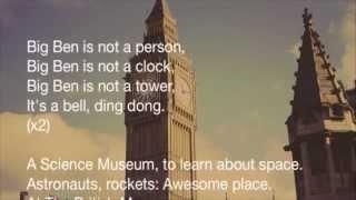 London song Big Ben Karaoke version | English Through Music
