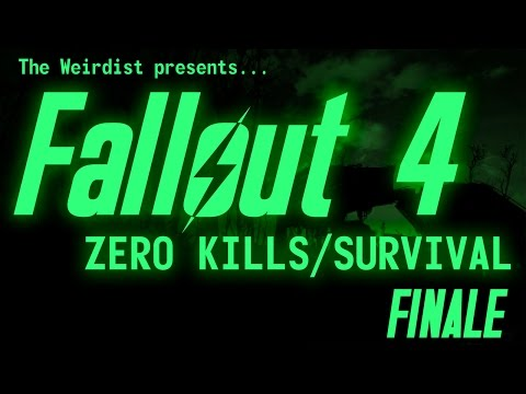 Fallout 4 - Zero Kills/Survival - Part 37 (FINALE)