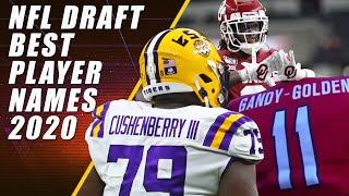 NFL DRAFT: Best Named Players 2020