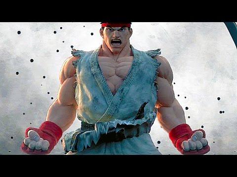 Street Fighter 5 All Cutscenes Movie Story