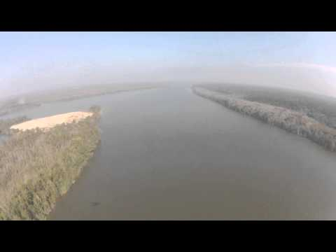 Flying the Mobile Bay Delta- Tensaw River