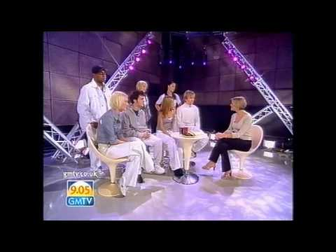S Club 7 - Interview and performing Never Had A Dream Come True