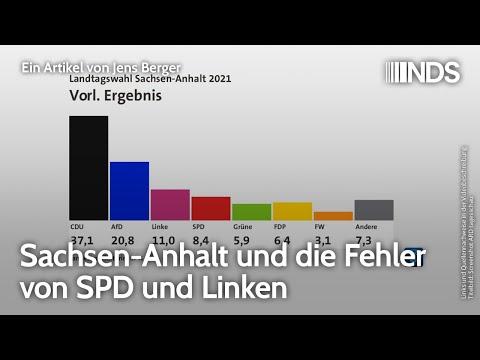 Sachsen-Anhalt und die Fehler von SPD und Linken   Jens Berger   NachDenkSeiten-Podcast   07.06.2021