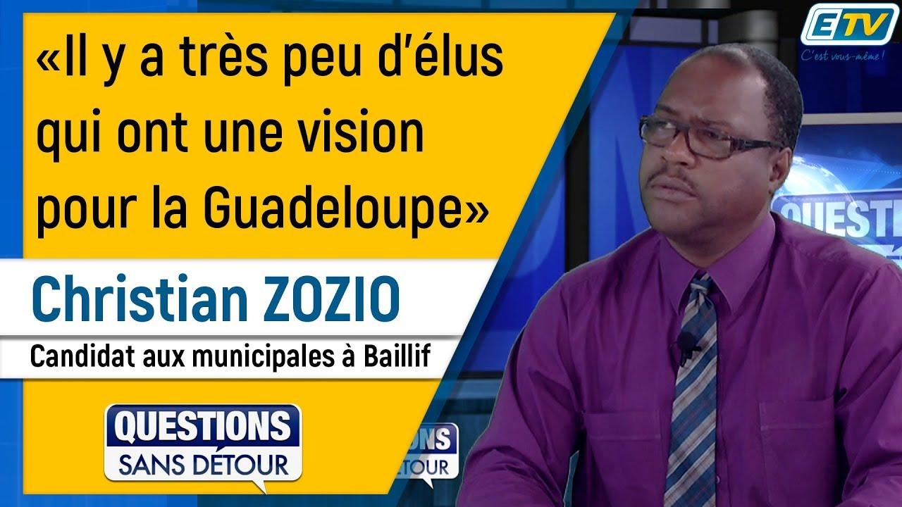 Questions Sans Détour avec Christian ZOZIO