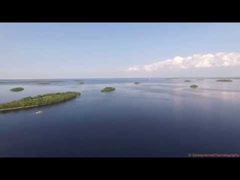 Drone View The Corrib Galway
