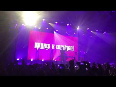 MiyaGi - Я по уши в тебя влюблён (live) СПб клуб А2