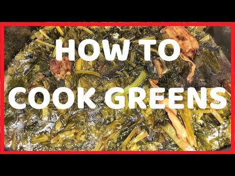 How to Cook Greens | Southern Mustard and Turnip Greens