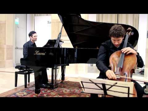 mdi ensemble_Anton Webern: Drei Kleine Stücke (1914), per violoncello e piano