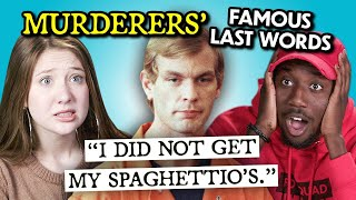 Adults React To Serial Killers Last Words On Death Row MP3