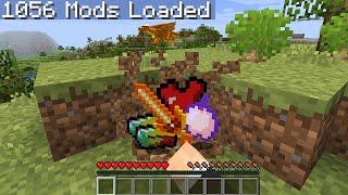 Minecraft Randomizer but with 1,000 mods...