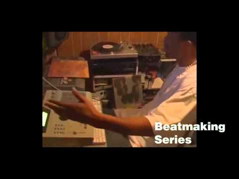 Black Milk Making A Beat (In The Crib, In The Basement) *Corrected Audio
