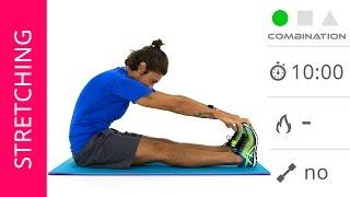 Esercizi Di Stretching Per Schiena, Gambe e Bacino