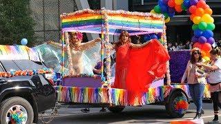 🌈 ПРАЙД ПАРАД в Калгари 2018 🦄Pride Parade в Канаде / Интересный Калгари