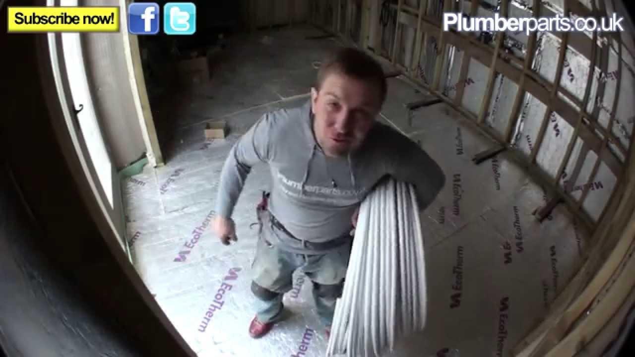 How Wet Underfloor Heating Systems Work Plumbing Tips You