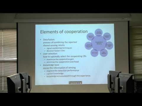 Cooperative spectrum sensing in cognitive radio