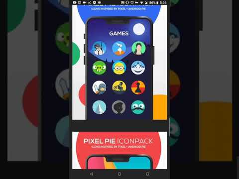 Pixel Pie Icon Pack v1 3 (Patched) icons android 9