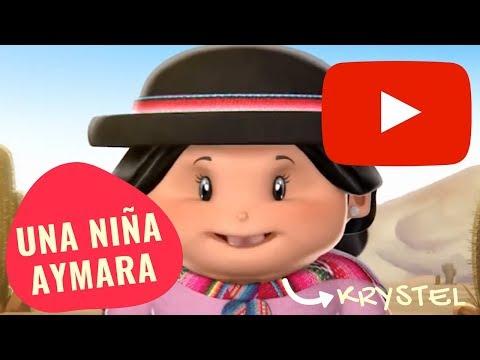 Kristel Una Niña Aymara | Serie Pichintún