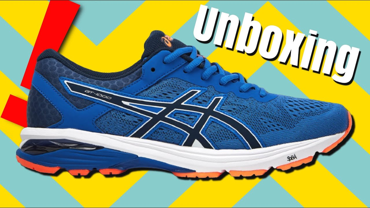 240a9cbbf28 ASICS Gt-1000 6 Running shoes unboxing