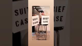 SUIT CASE & BRIEF CASE