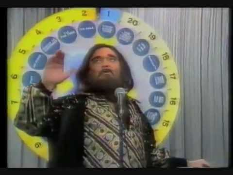 Bert Newton as Demis Roussos on the  Don Lane Show Early 80s)