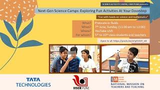 Next-Gen Science Demonstration Exploring Fun Activities At Your Doorstep