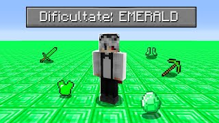 Bat Minecraft Pe O Lume Superflat Plina Cu Emeralde!