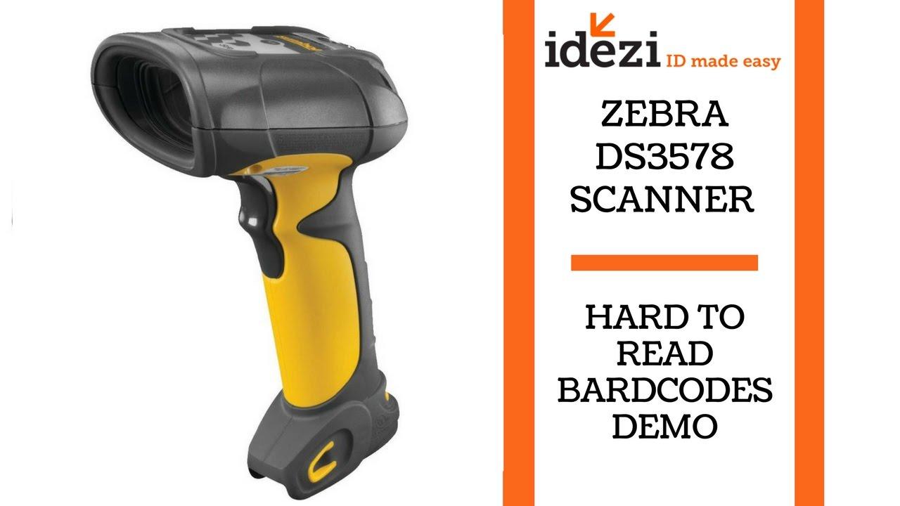 Zebra Ds3578 Scanner Hard To Read Bardcodes Idezi Id Made Easy
