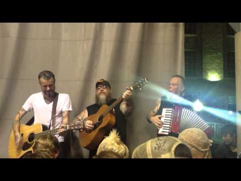 Raising Hell  Lucero Family Picnic  Acoustic during the storm