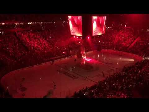 Vegas Golden Knights 2018 Second Round Pregame Ceremony